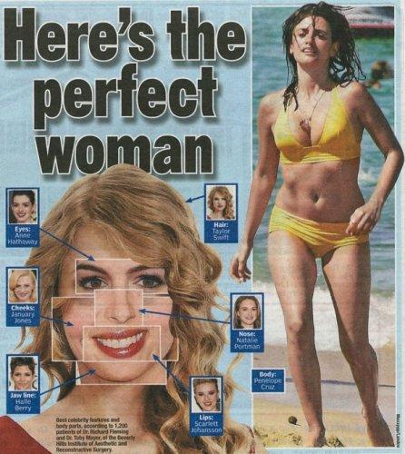 Как выглядит идеальная женщина