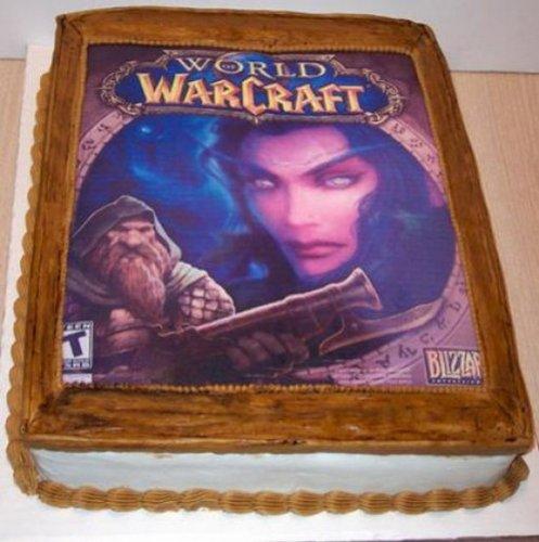 Торты, посвященные игре World of Warcraft