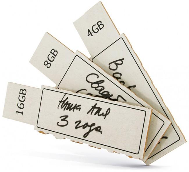 Флешка из бумаги