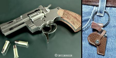 Самый маленький в мире револьвер