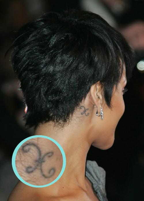 На китайском эту татуировку rihanna