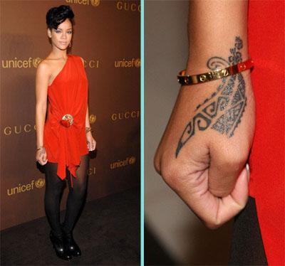 Татуировки Rihanna