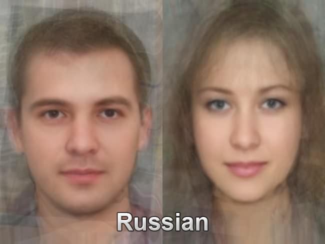 Вот характерные представители cеверного русского типа, который широко распространен от Архангельска до Вологды.