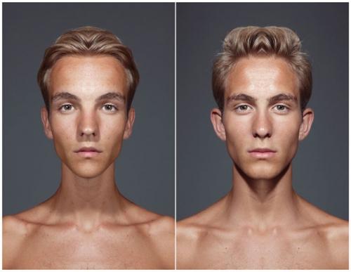 Такие разные лица