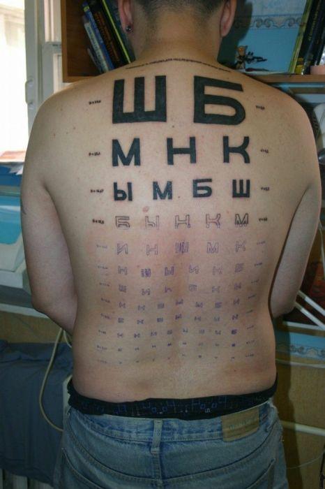 Татуировки по характеру человека