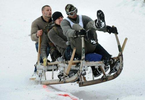 Зимние забавы (39 фото)