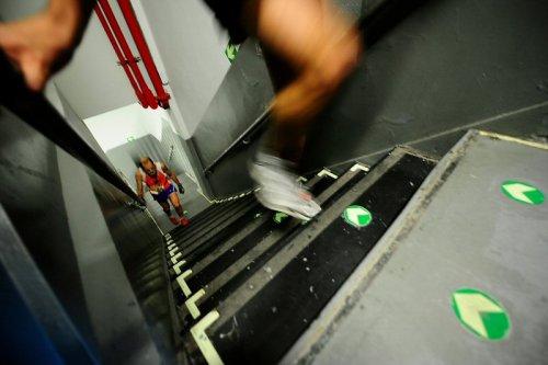 Очередной забег по лестнице небоскреба
