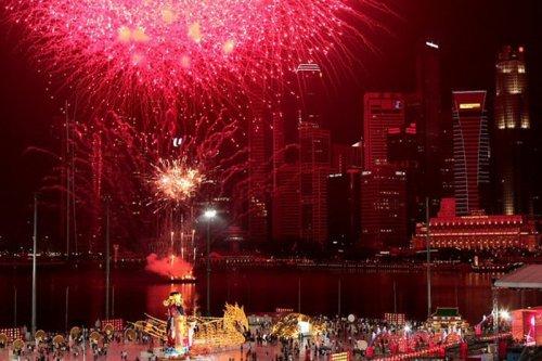 Канун празднования китайского Нового года