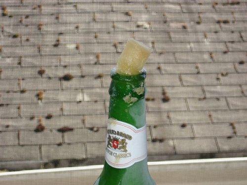 Замерзшее пиво