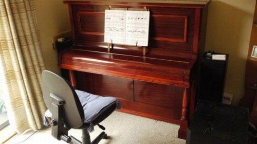 Загадка дня: необычное пианино