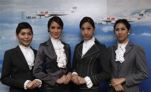 Новое поколение стюардесс в Тайланде