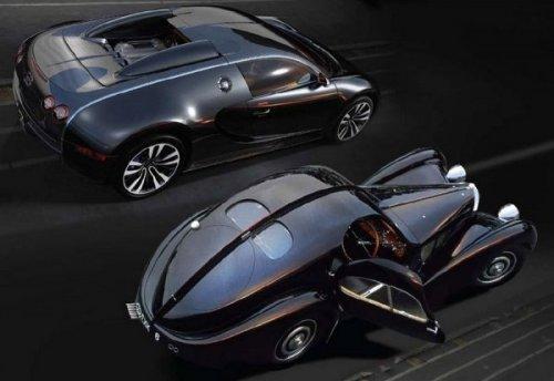Bugatti Veyron - Sang Noir