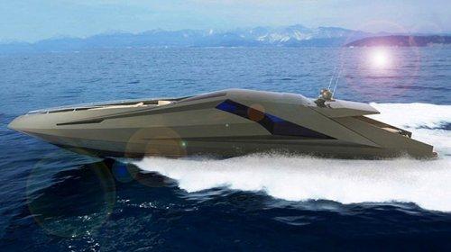 50-футовая яхта Lamborghini