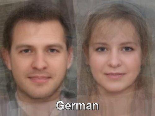 Как выглядят среднестатистические жители разных стран