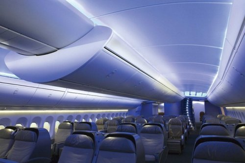 Новый пассажирский авиалайнер Boeing 747-8 Intercontinental