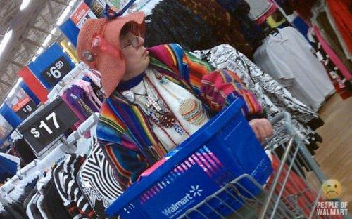 Люди из супермаркета