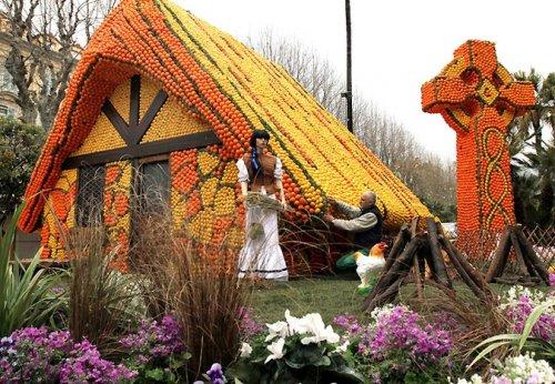 Цитрусовый фестиваль во Франции (2011)