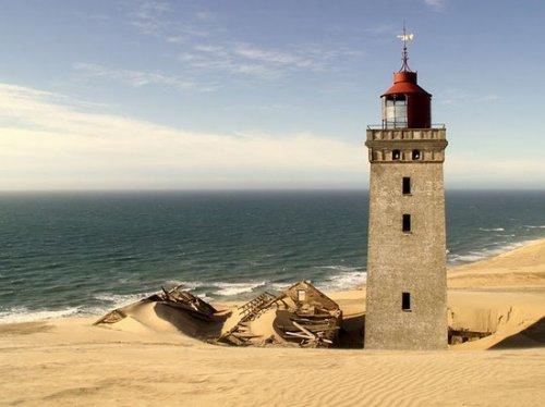 Заброшенный датский маяк