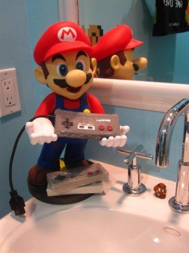 Ванная комната в стиле Super Mario