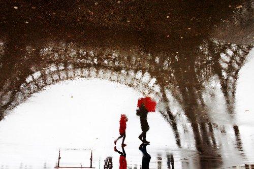 Парижский дождь от фотографа Christophe Jacrot