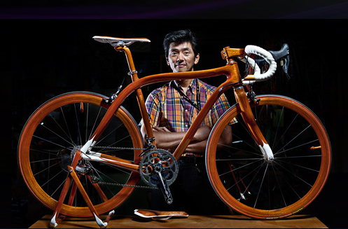 Настоящий велосипед класса люкс