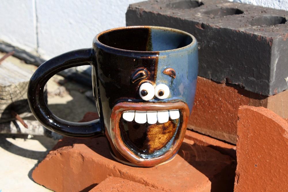 Смешная чашка кофе фото