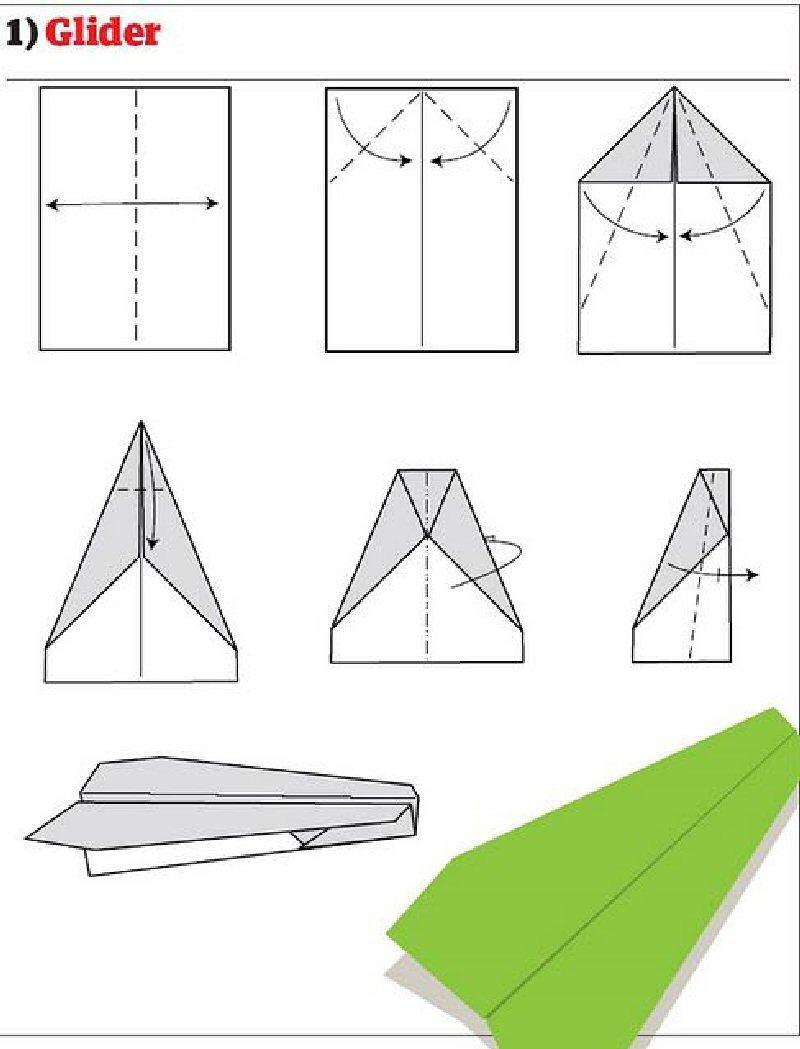 Как сделать нормальный самолетик из бумаги
