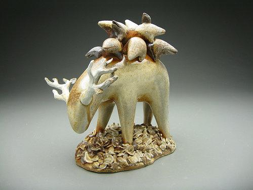 Забавные монстры из керамики