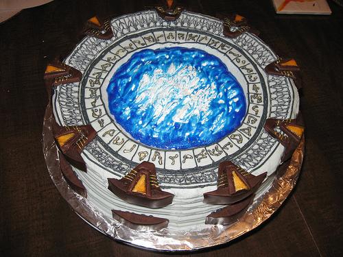 Торт Звездные Врата