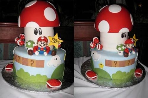 Торты Super Mario