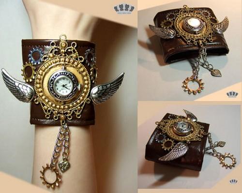 Стимпанк-часы