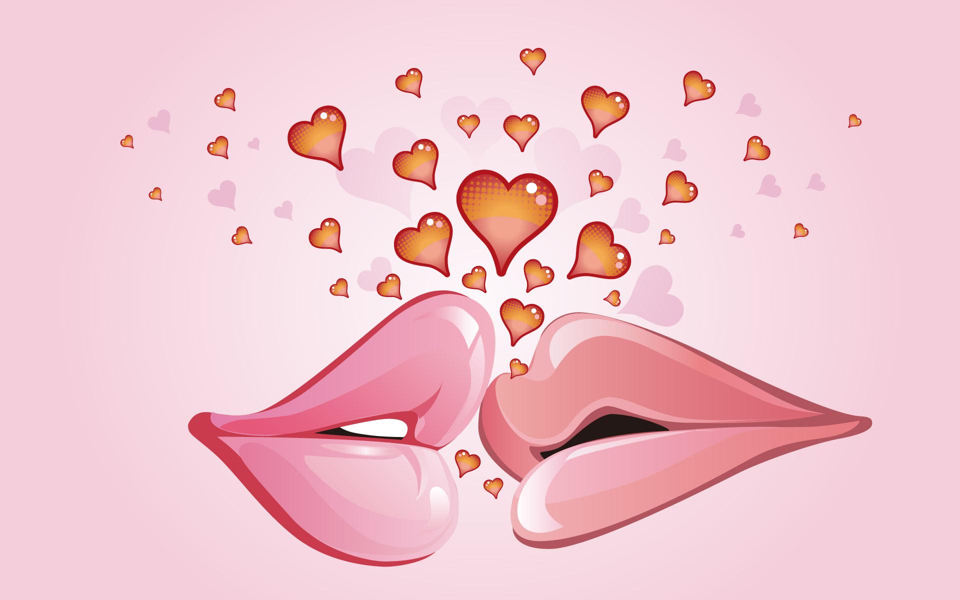Любовная открытка девушке рисунок