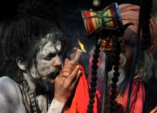 Фестиваль Shivaratri в Катманду