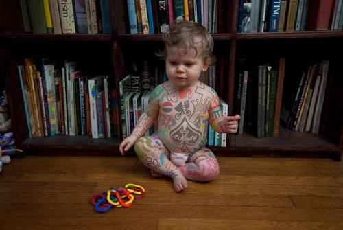 Татуированные младенцы