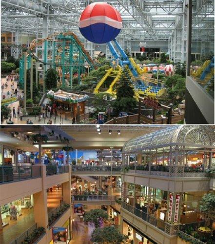 Самые впечатляющие шоппинг-центры