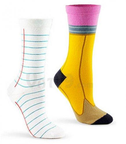 16 оригинальных моделей носков
