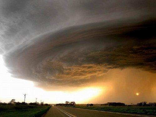 Облака и закаты в фотографиях