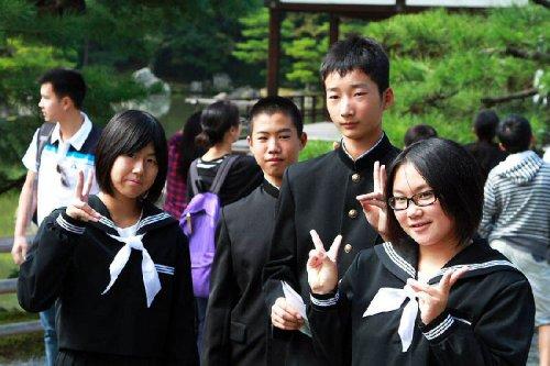 Жизнь японских школьников