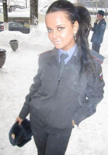 Самая гламурная полицейская