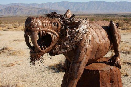 Галлета Мидоус - музей доисторических животных