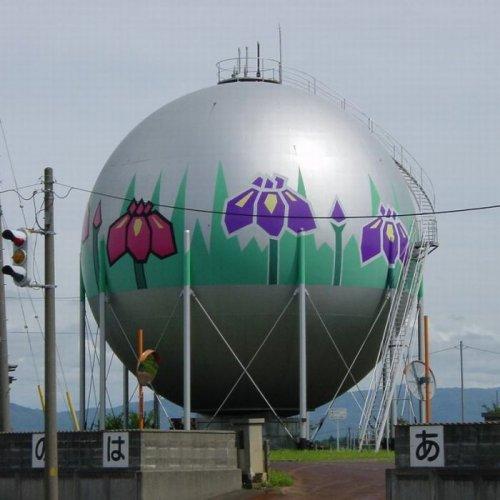 Японские хранилища газа