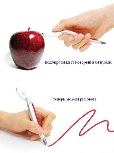 Ручка, подбирающая цвета
