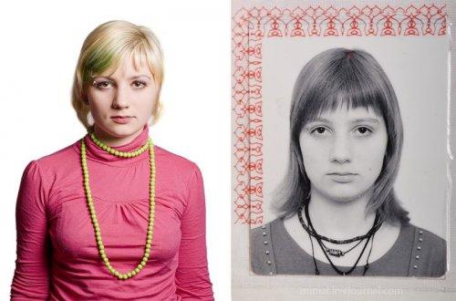 Фото в паспорте и в жизни