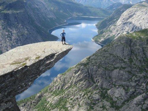 Скалы Норвегии