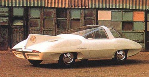 Назад в будущее: футуристический дизайн автомобилей прошлого