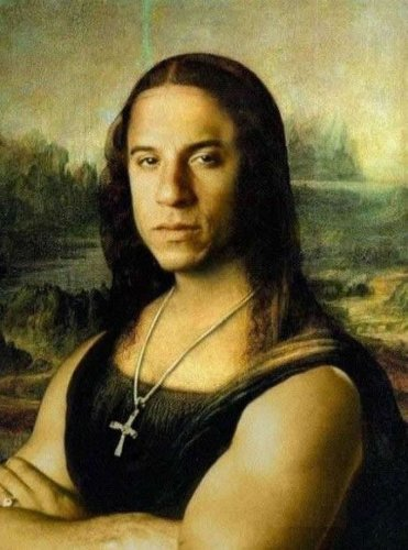Римейки знаменитой картины Мона Лиза