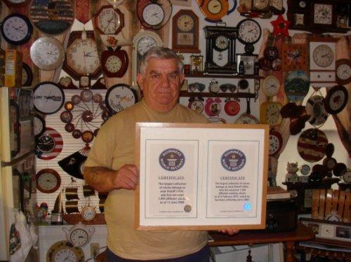 Самая большая коллекция часов в мире