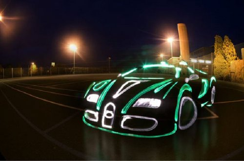 Люминесцентные автомобили