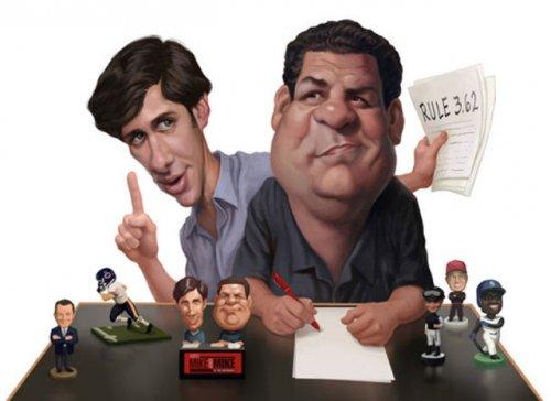 Подборка карикатур знаменитостей