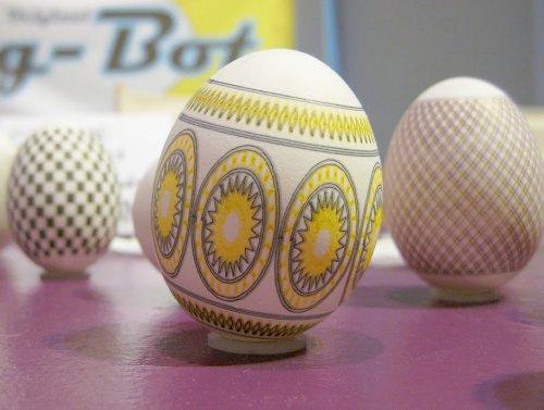 Робот для украшения пасхальных яиц